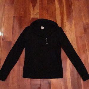 BANANA REPUBLIC Black Sweatshirt